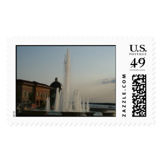 Fountain Postage Stamps