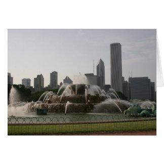 Fountain & Skyline Cards