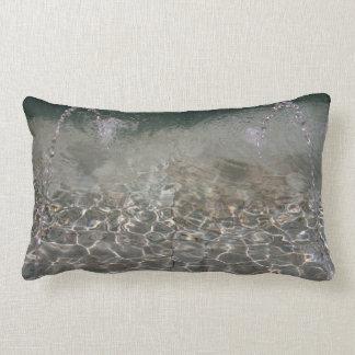Fountain Spray Throw Pillows