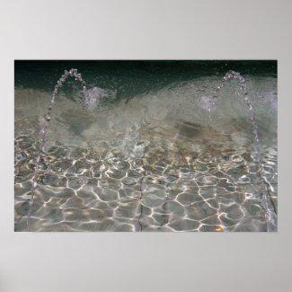 Fountain Spray print