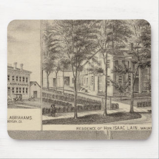 Fountain Spring House & Lain residence Mouse Pad