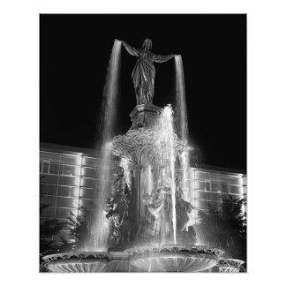 Fountain Square Photo Print