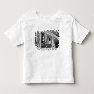 Fountain under the stairs of the Hotel de Toddler T-shirt