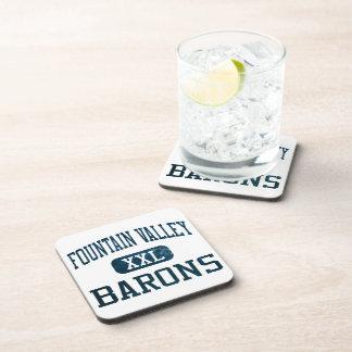 Fountain Valley Barons Athletics Beverage Coaster