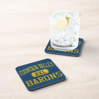 Fountain Valley Barons Athletics Drink Coaster