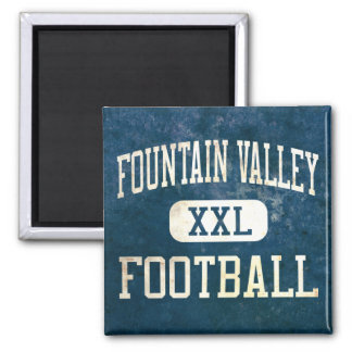 Fountain Valley Barons Football Magnet