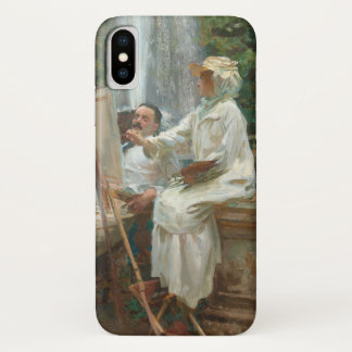 Fountain Villa Torlonia Frascati, Italy by Sargent iPhone X Case