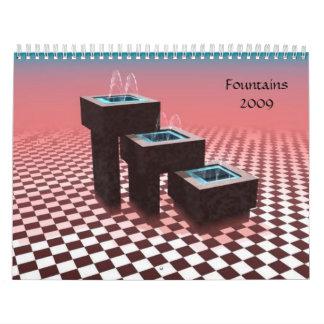 Fountains2009 Calendar