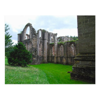 Fountains Abbey 6 Postcard