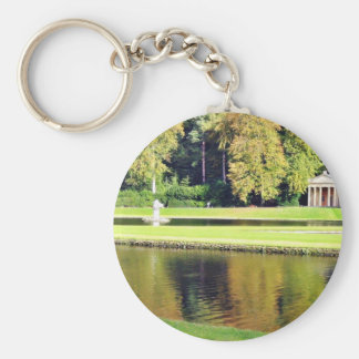 Fountains Abbey In North Yorkshire Keychains