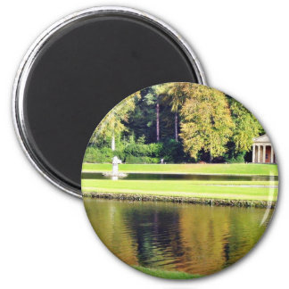 Fountains Abbey In North Yorkshire Fridge Magnet