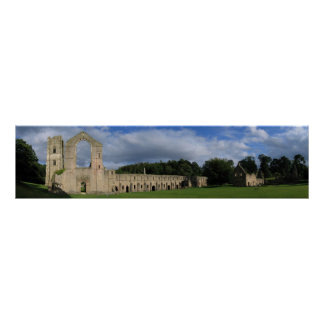 Fountains Abbey North Yorkshire England Print