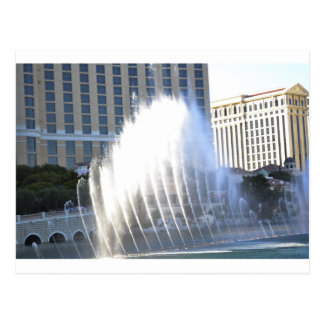 Fountains and Architecture along the Las Vegas Str Postcard