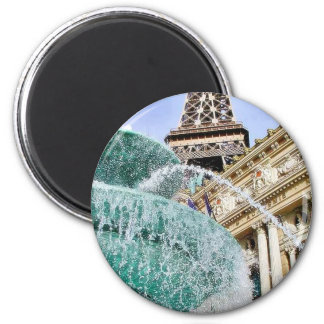 Fountains Eiffel Towers Refrigerator Magnets