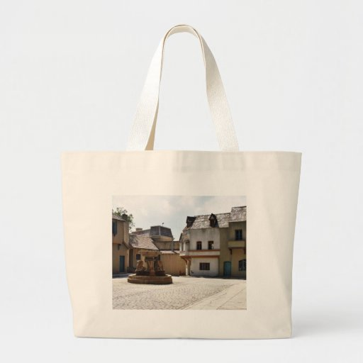 Fountains In Old Town Canvas Bag