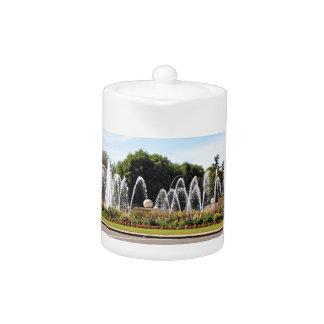 Fountains, Leon, on El Camino Teapot