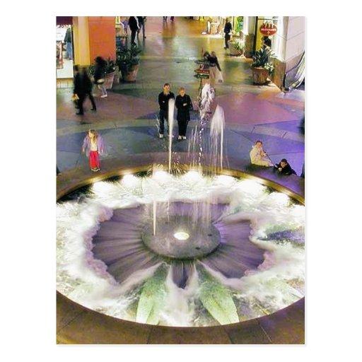 Fountains Malls Postcard