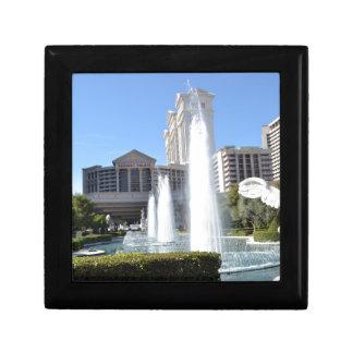 Fountains on the Las Vegas Strip Keepsake Boxes