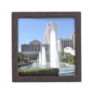 Fountains on the Las Vegas Strip Premium Keepsake Box