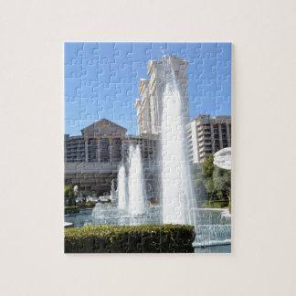 Fountains on the Las Vegas Strip Jigsaw Puzzles