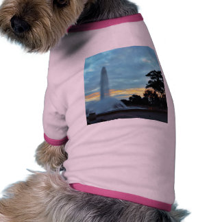Fountains Sunrises Clouds Mornings Pet Clothes