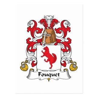 Fouquet Family Crest Postcards