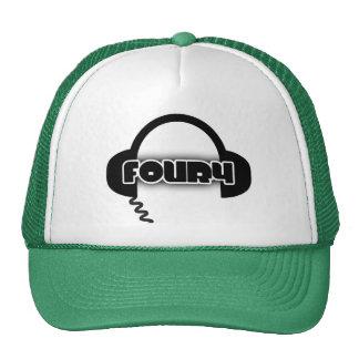 FOUR4 HEADPHONE TRUCKER HAT