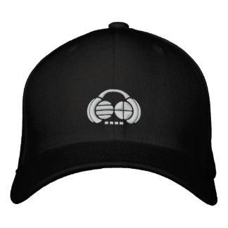 Four4ths - Frente/lado blancos del logotipo Gorra De Beisbol Bordada