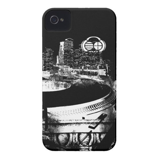 "Four4ths :: iPhone 4/4S Case  ""Turntable City"""