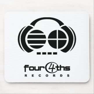 Four4ths Records - mousepad