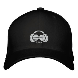 Four4ths - White logo front/side Embroidered Baseball Cap
