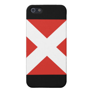 Four (4) Signal Flag Case For iPhone SE/5/5s