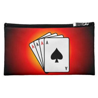Four Aces! Makeup Bags