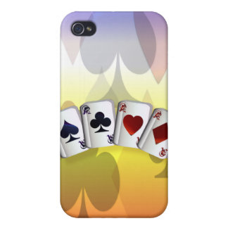 Four Aces  Case For iPhone 4