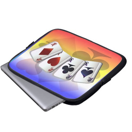 Four Aces Electronic Bag Laptop Computer Sleeves