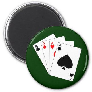 Four Aces Magnet