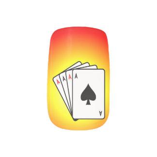 Four Aces! Minx® Nail Wraps