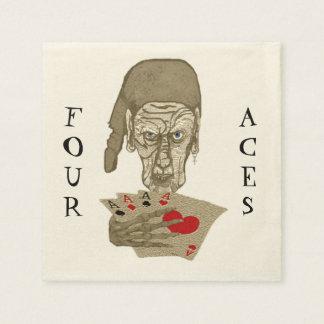Four Aces Napkins Paper Napkin