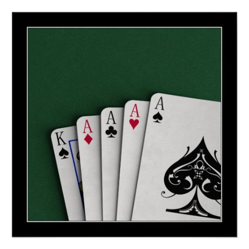 Four Aces - Poster