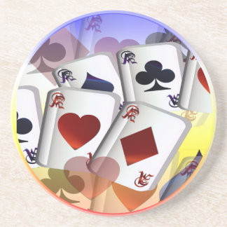 Four Aces (rain bow)  Coaster