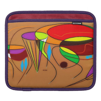 Four African Drums iPad Sleeve