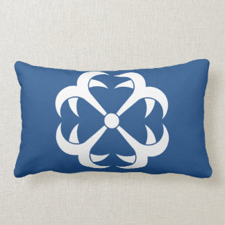 Four anchors lumbar pillow