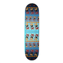 Four Ancient Horses Skateboard Deck