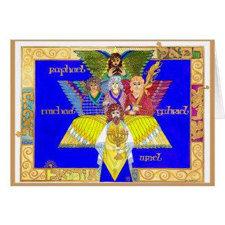 Four Archangels Card