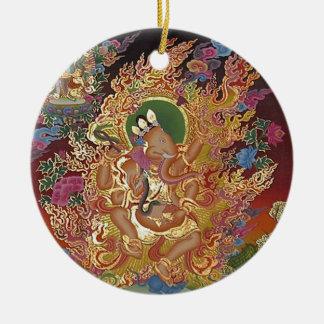 Four-Armed Ganesh Ornament
