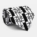 Four Arrows Pictograph Neck Tie