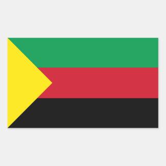 FOUR Azawad Flag Rectangular Sticker