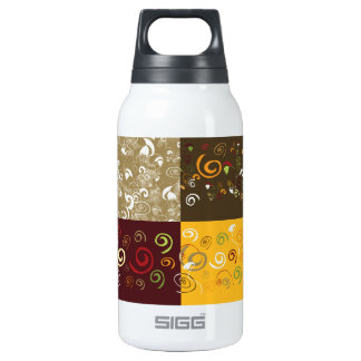 Four background in one SIGG thermo 0.3L insulated bottle
