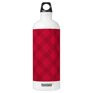 Four Bands Small Diamond - Dark Red1 SIGG Traveler 1.0L Water Bottle