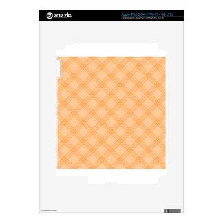 Four Bands Small Diamond - Orange1 Skins For iPad 3